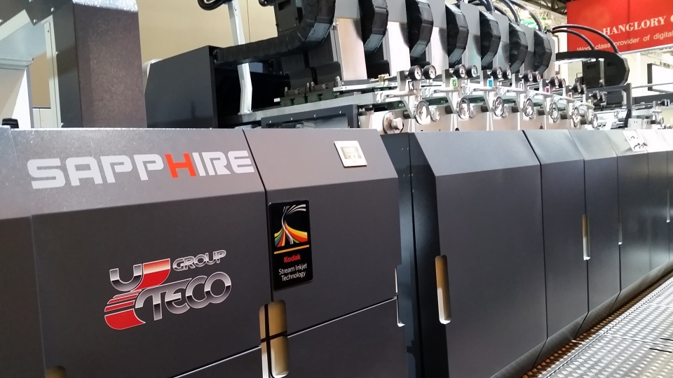 Sold the first ever flexo-inkjet press for packaging
