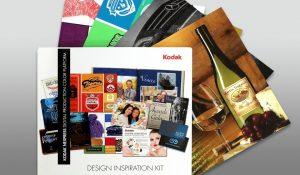 Il Nexpress inspiration kit illustra le diverse applicazioni possibili con la nuova versione