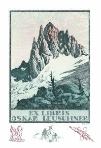 Leuschner : Adolf Kunst (D) – 1916, acquaforte, acquatinta, mm 188 x 126