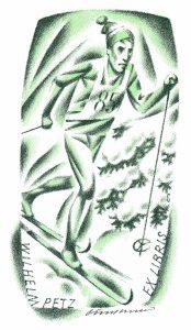 Petz: Vojtěch Cinybulk (CZ) – s.d., litografia, mm 101 x 55
