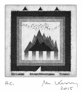 Mariano Kravos (I) – 2015, acquaforte, acquatinta, mm 97 x 97