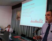 Il vice presidente Taga Italia, Adalberto Monti, illustra le ultime novità tecniche della stampa