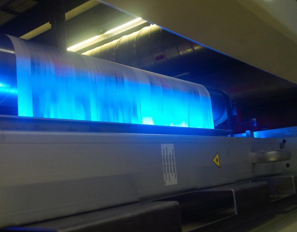 La stampa UV vista dal Taga