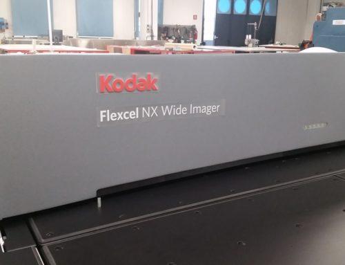 La divisione flexo di Kodak a Montagu