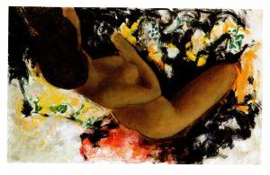 Frida olio su tela cm 81x112