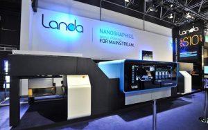 Il sistema NS40 sviluppato da Komori in collaborazione con Landa