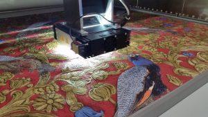 Una scansione per riprodurre una tappezzeria tessuta