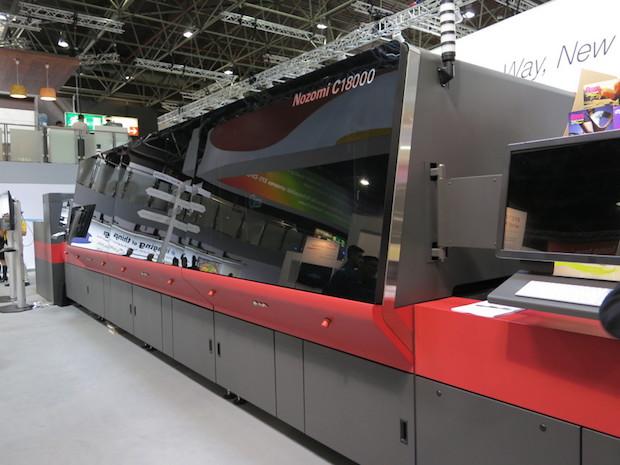 EFI Nozomi C18000 certificata Fogra