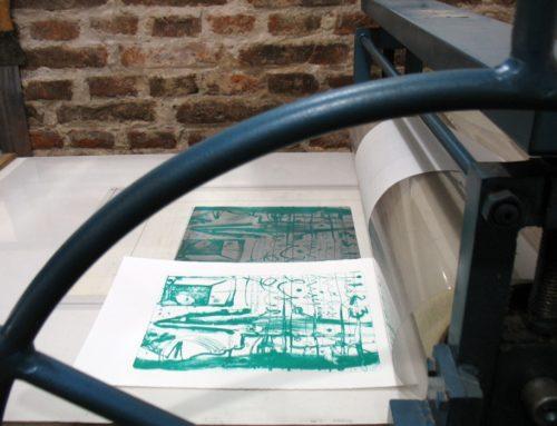 La litografia artistica senz'acqua