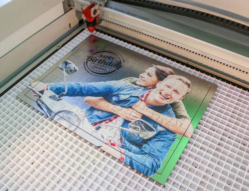 Taglio e incisione laser nella stampa digitale