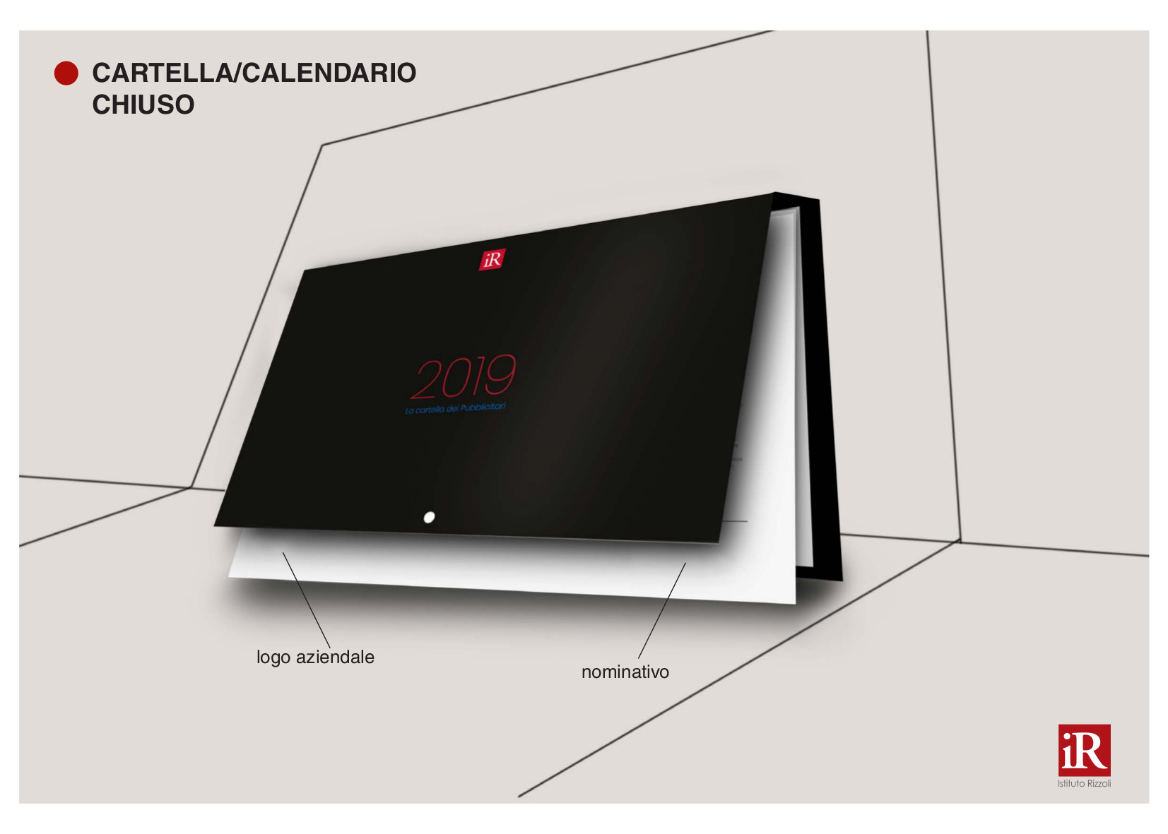 calendario 2019 cartella IR