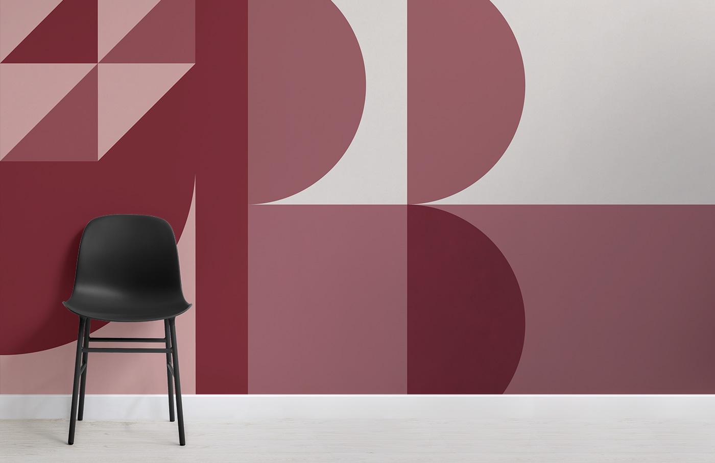 Sei carte da parati per i 100 anni del Bauhaus