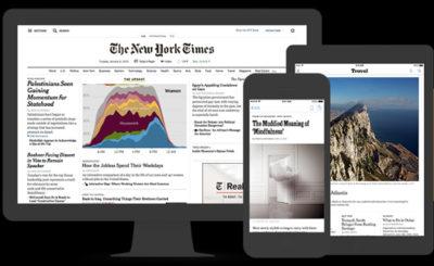Stampa e pubblicità sempre più web