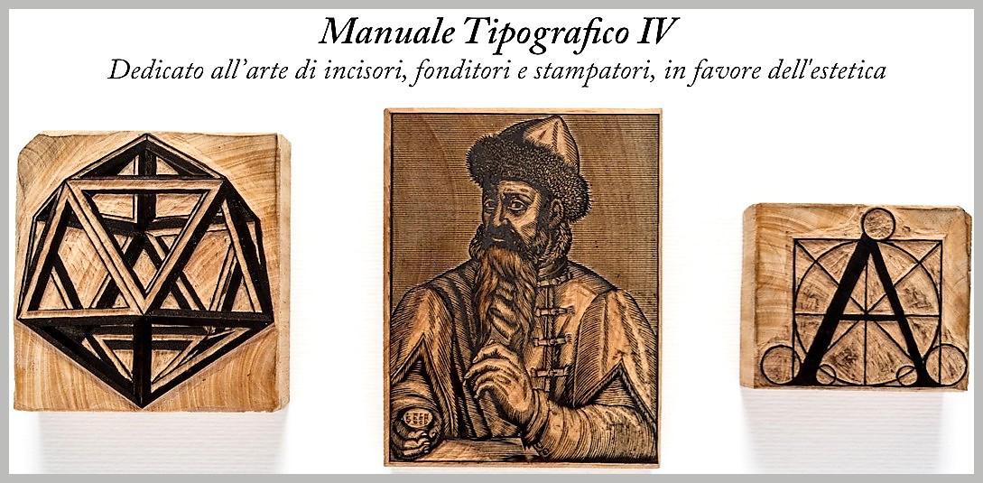 Un prezioso Manuale Tipografico