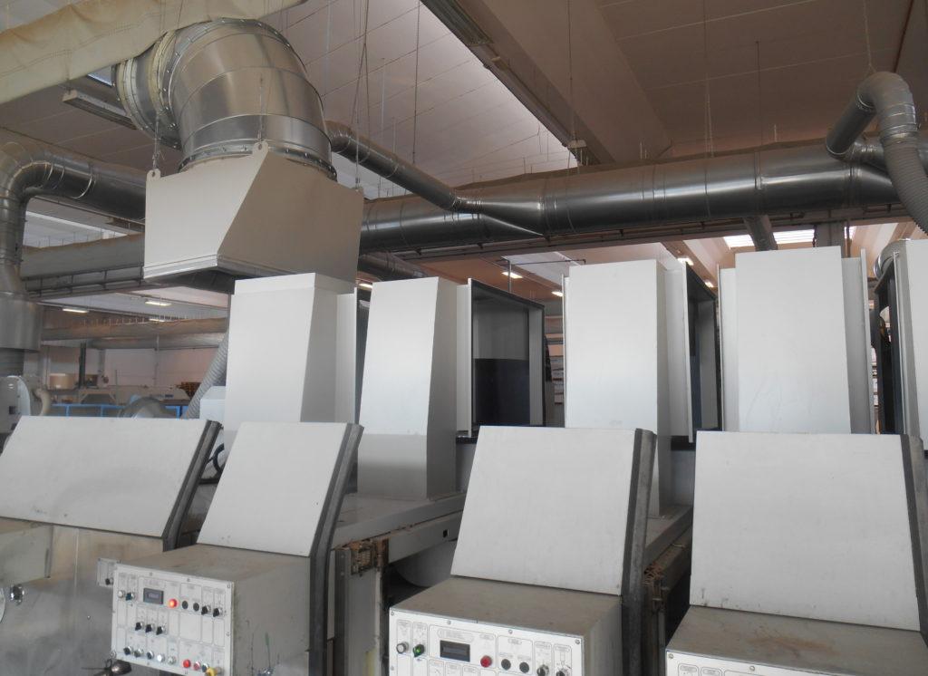 polvere in stampa e nel packaging NewAerodinamica