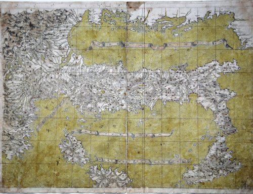 L'eccellenza italiana delle mappe cartografiche del XVI secolo