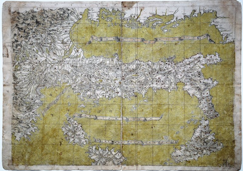 Cartografia e Topografia italiana