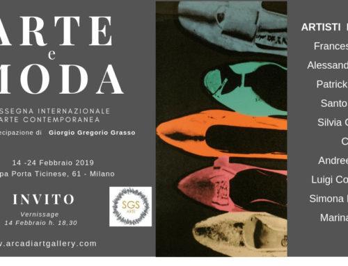Arte e moda a Milano presso Arcadia Art Gallery