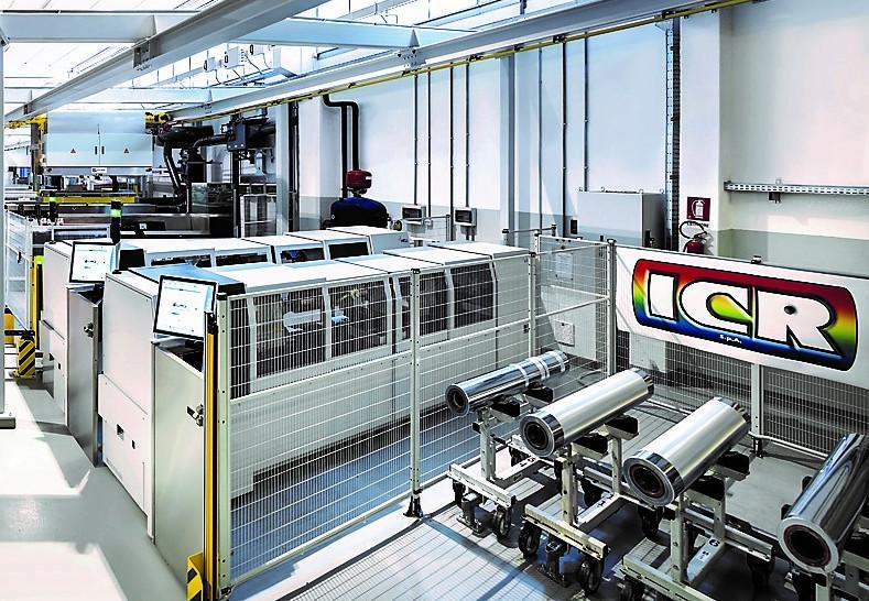ICR LINEE AUTOCON cilindri rotocalco