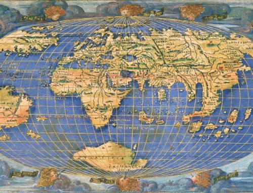 L'arte italiana di carta e stampa nella cartografia storica