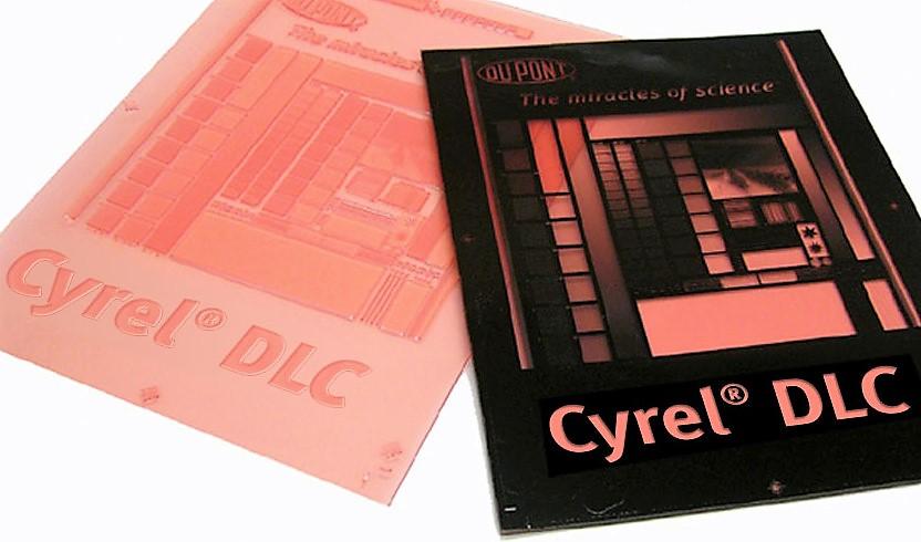Cyrel DLC lastra cartone ondulato
