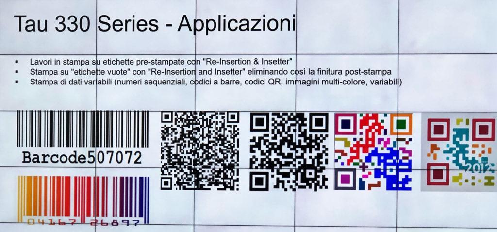 Durst applicazioni codici Q e barre