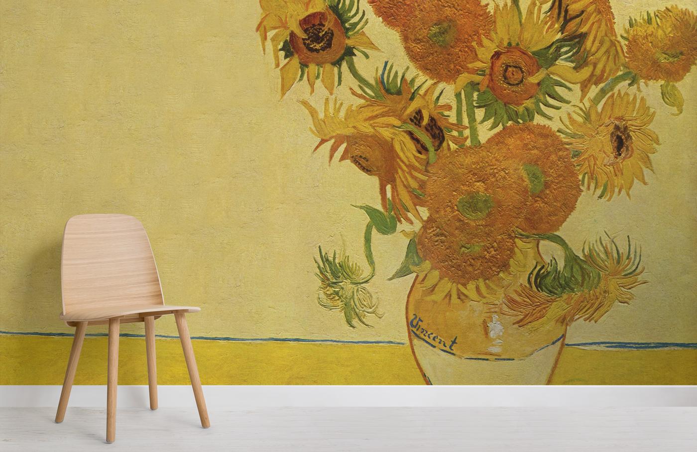 Carte da parati celebrano Van Gogh