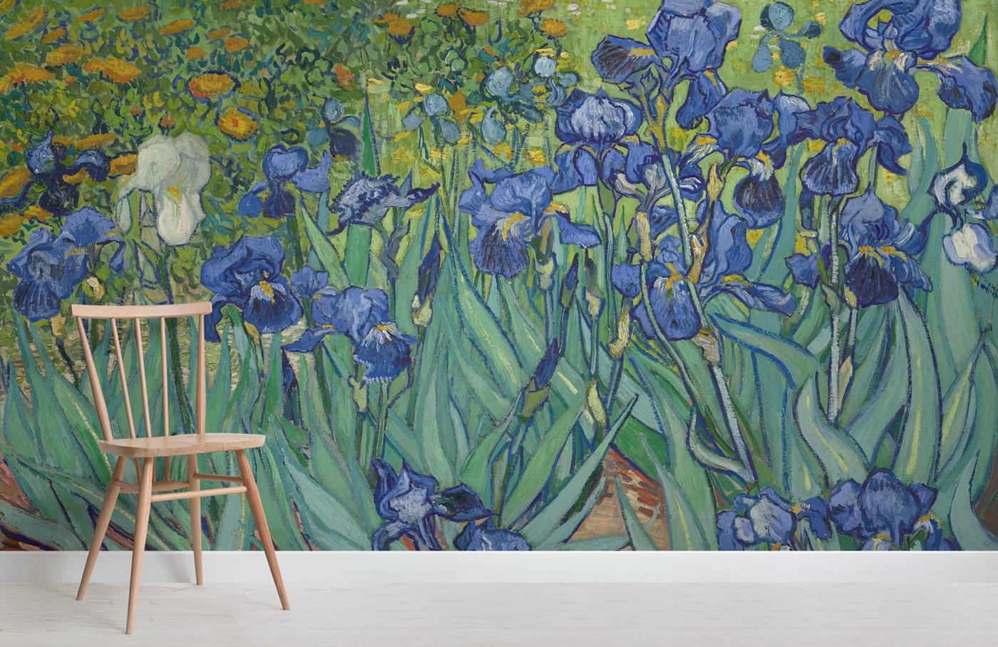 Carte Da Parati Particolari.Carte Da Parati Celebrano Van Gogh Metaprintart