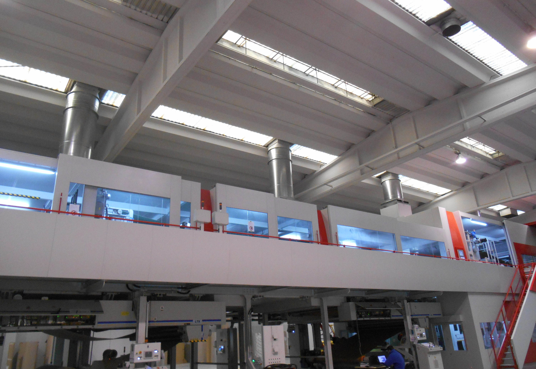 Un impianto per massimizzare la qualità di stampa