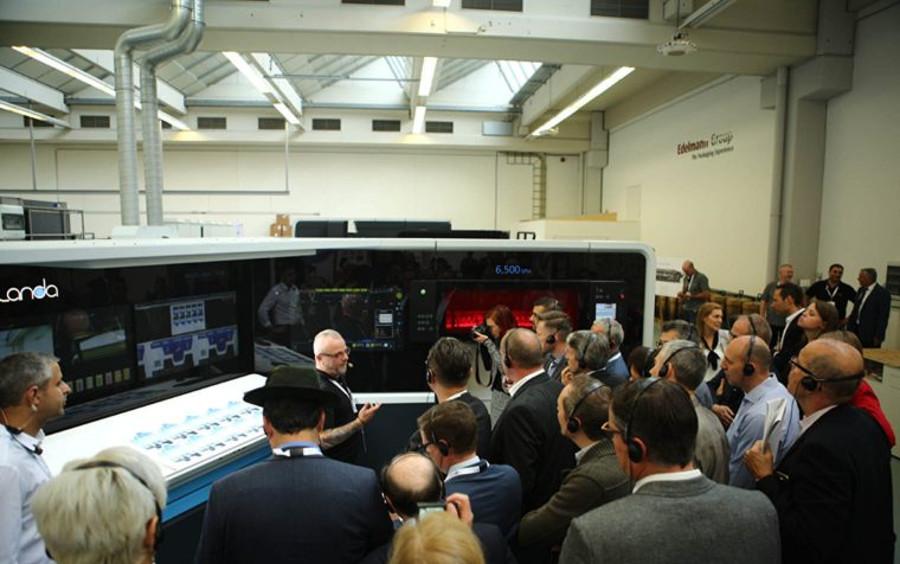 La Landa S10 Nanographic nella stampa commerciale