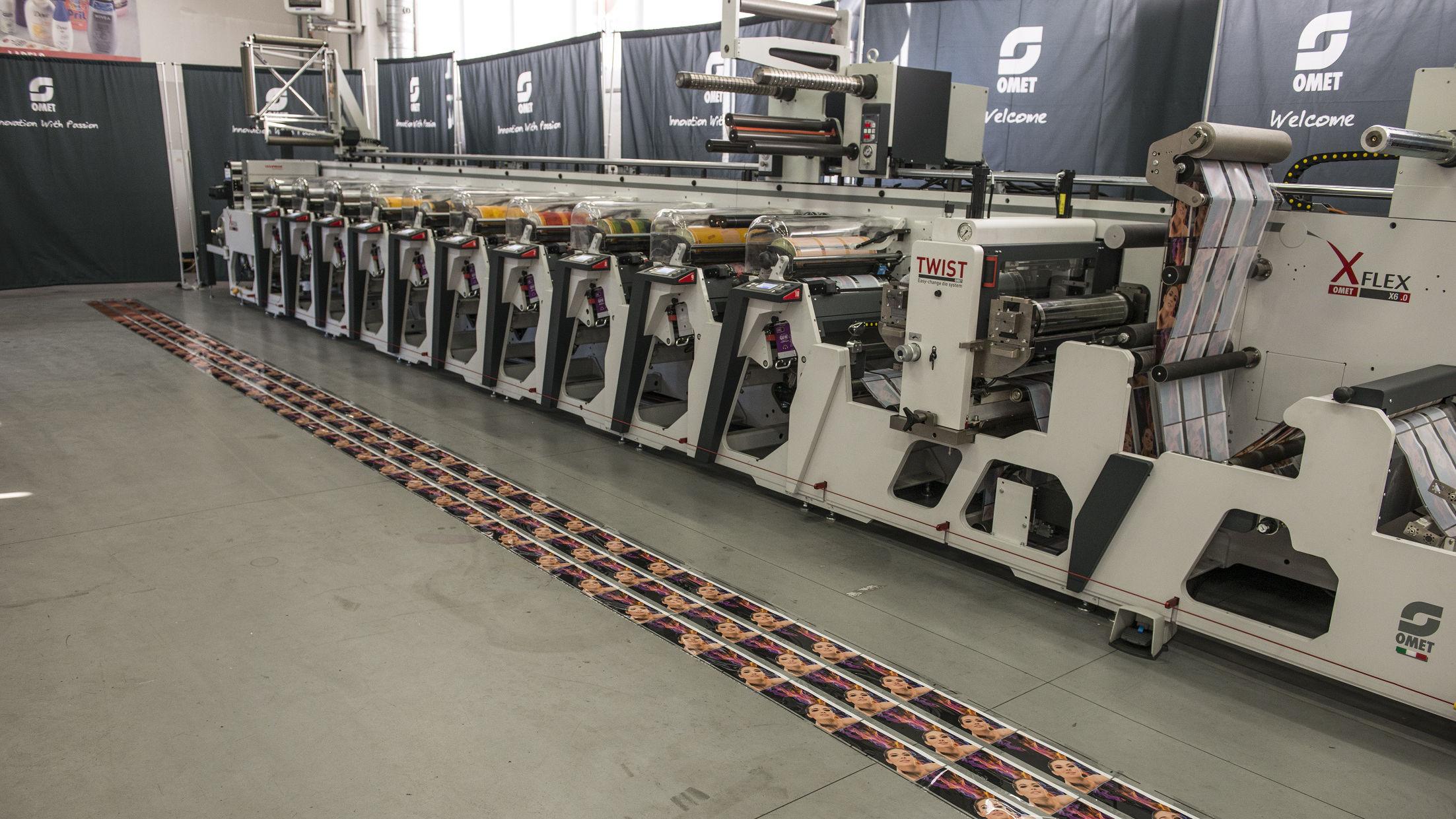 Flexo: stampa a registro con soli 10 metri di scarto