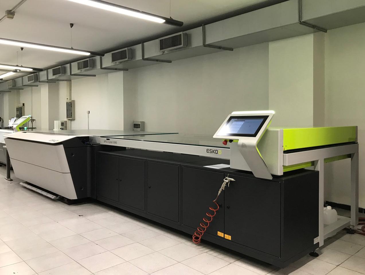 Digital Flex raddoppia la produzione di lastre flexo