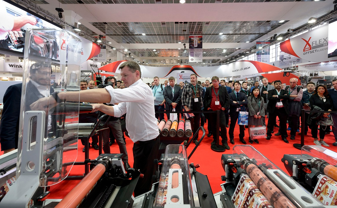 OMET launches the new X7 at Labelexpo Europe 2019