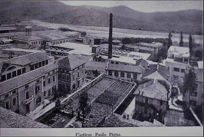 Cartiere Pigna storica