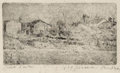 Giovanni Barbisan - Paesaggio 1939