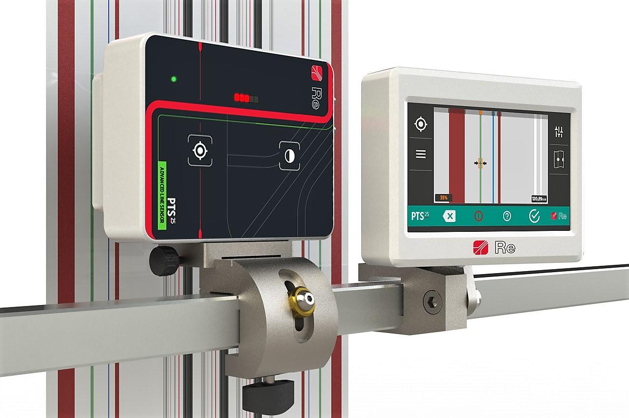 Il nuovo sensore di linea PTS25