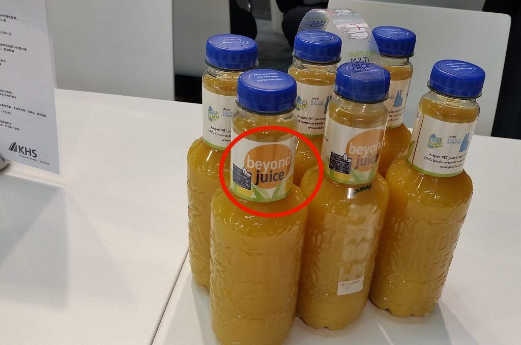 K label recupero plastica