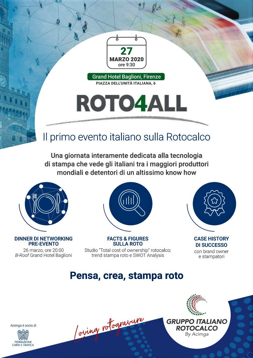 ROTO4ALL 27 MARZO FIRENZE