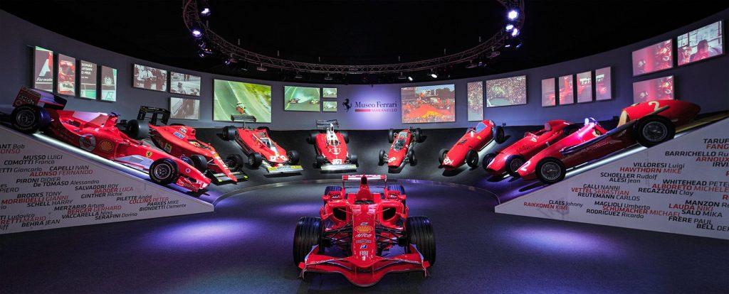 Future of Flexo al Museo Ferrari