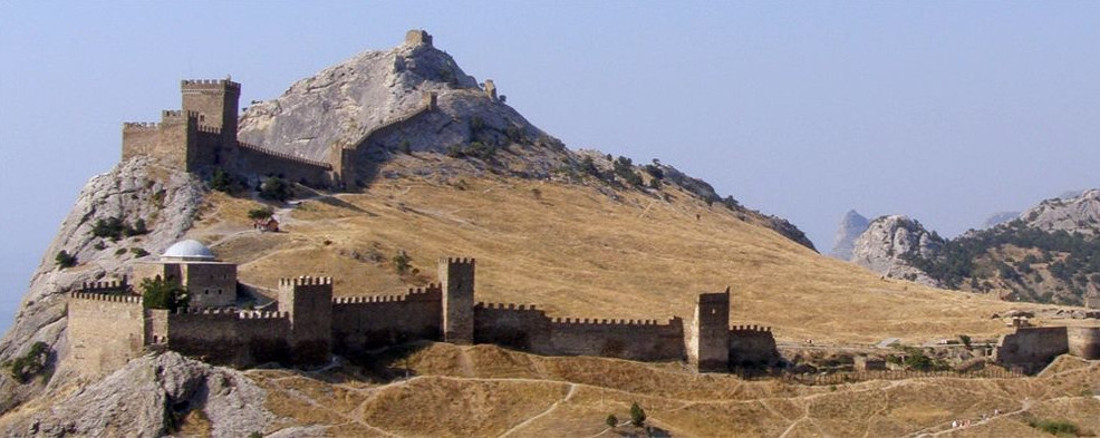 Fortezza genovese in Crimea