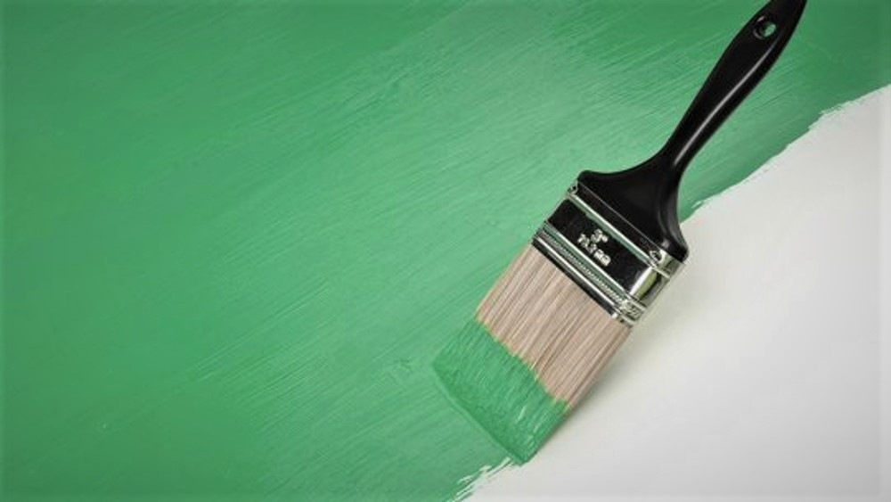 Green-Paint-Brush
