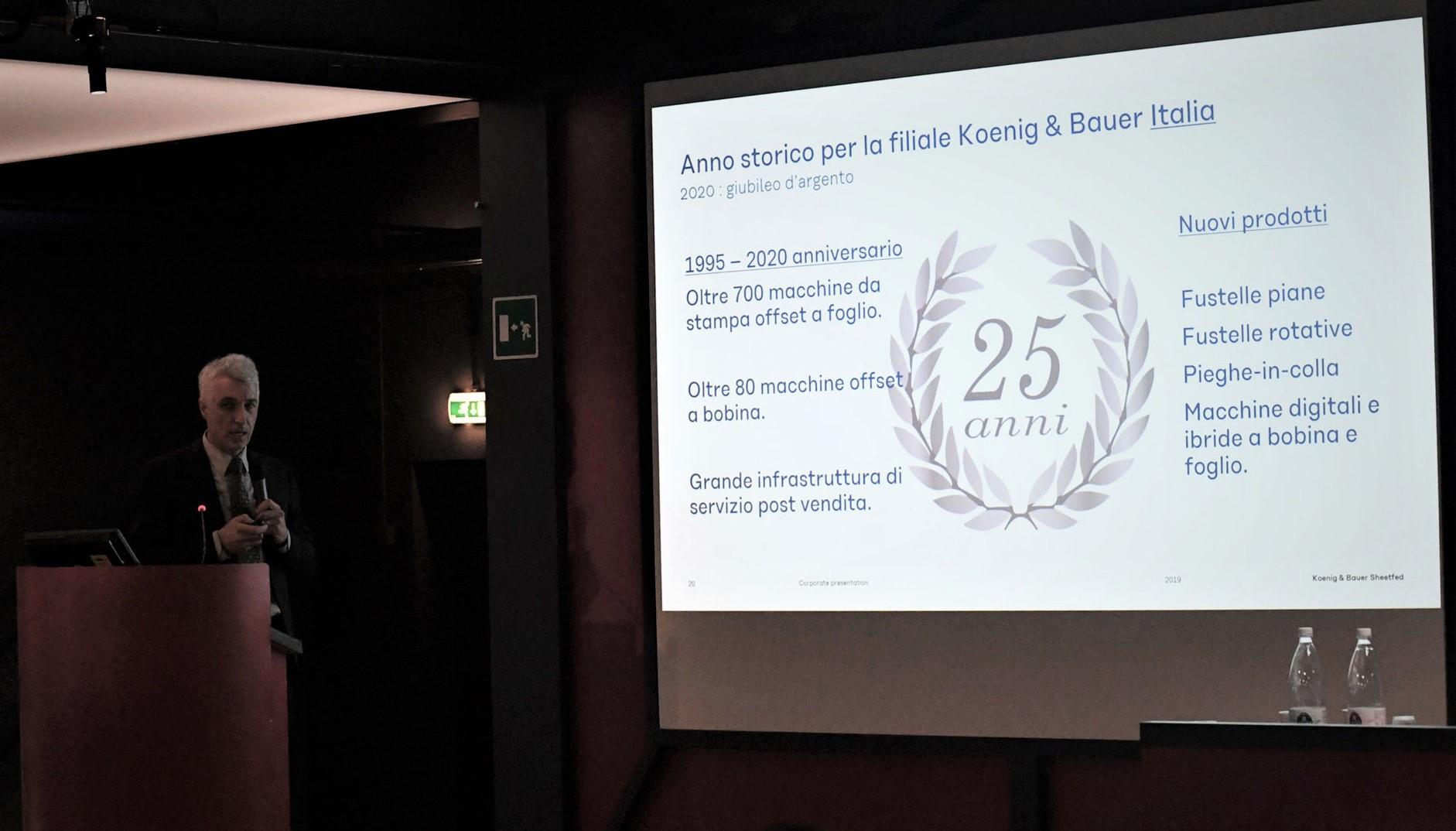 I 25 anni di KBA Italia