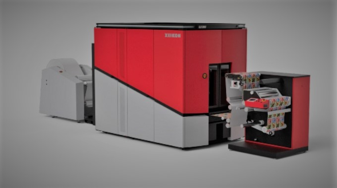 Stampante digitale per etichette di nuova generazione