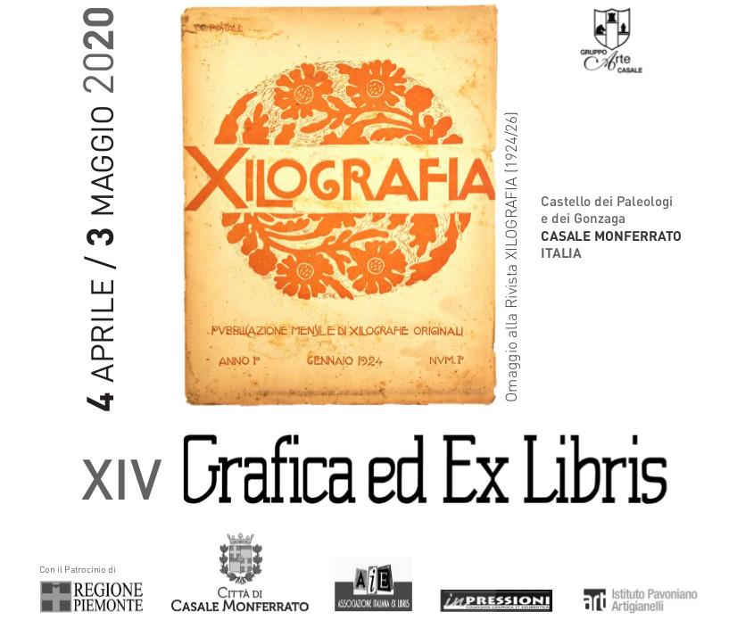 """Disponibile il catalogo della XIV edizione """"Grafica ed Ex Libris"""""""