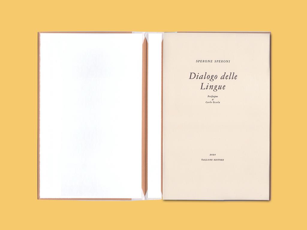Tallone libro tipografico