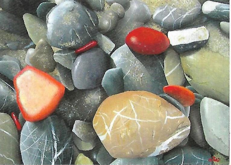 Il mare, le pietre, il colore