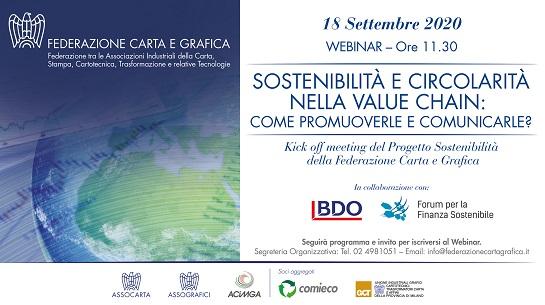 Federazione Carta e Grafica promuove la sostenibilità