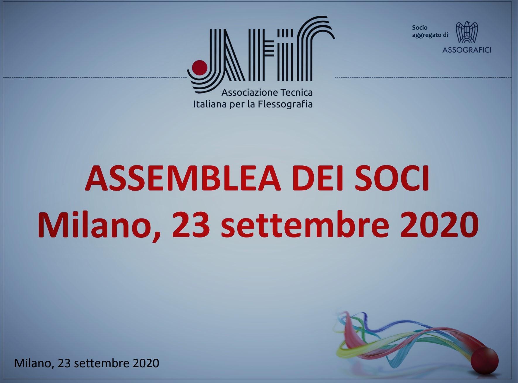 ATIF – Assemblea 2020: ripartire con slancio in sicurezza