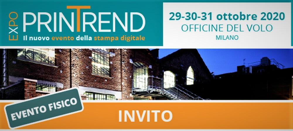 Printrend Expo evento della stampa digitale