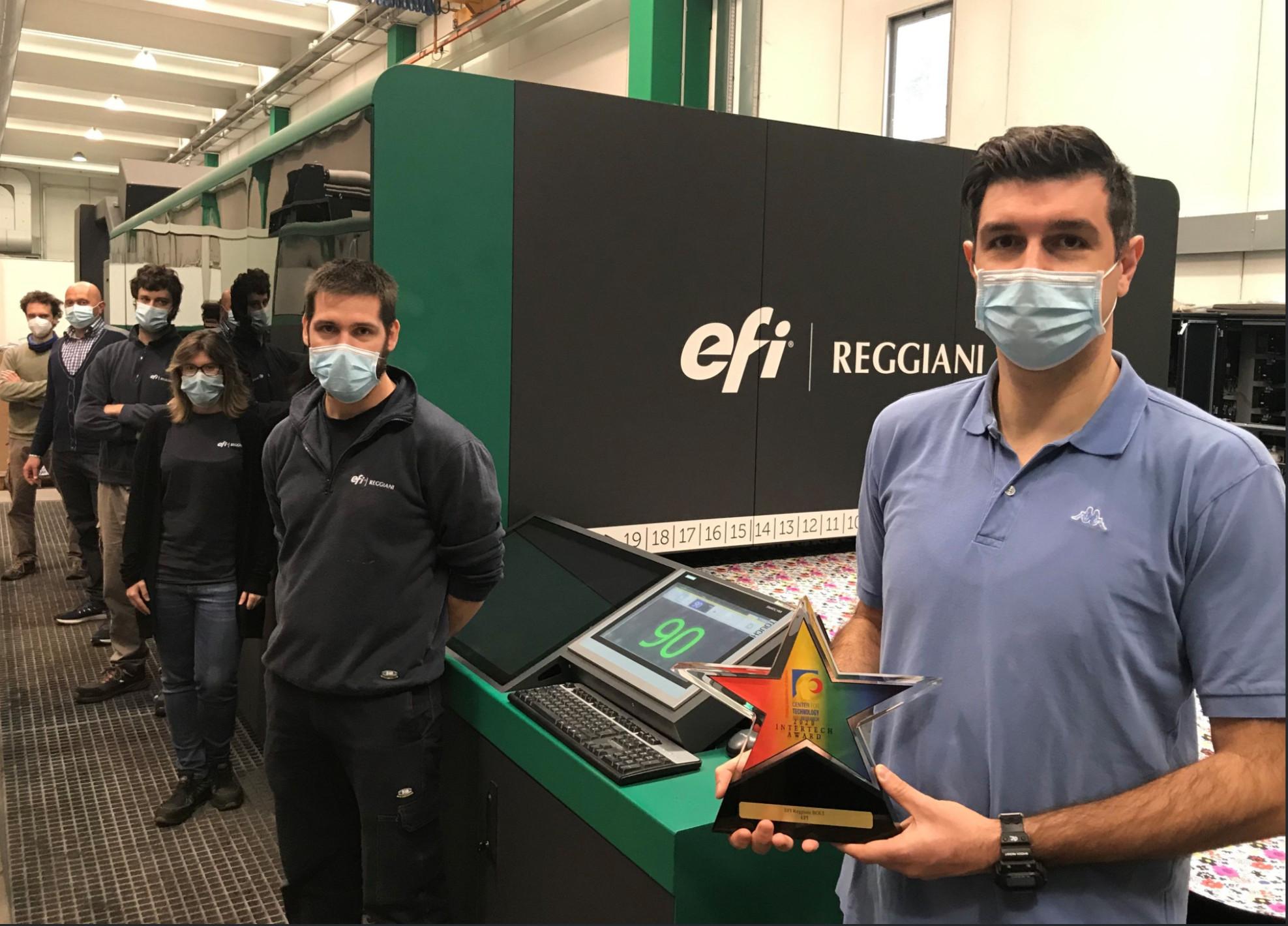 Bolt EFI Reggiani AWard